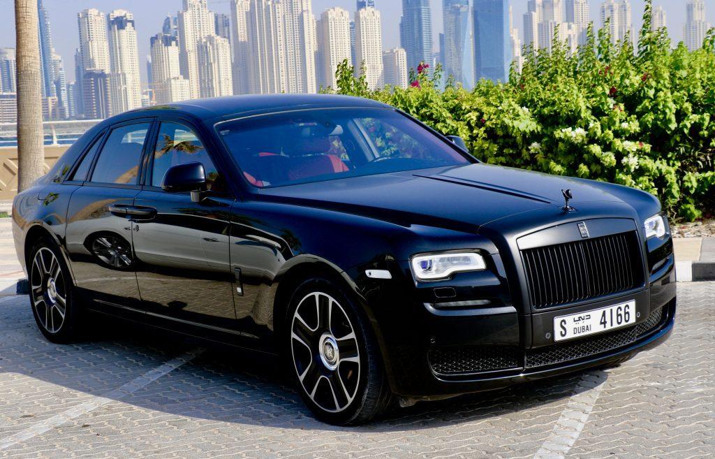Rolls Royce Ghost Black - For Rent Dubai UAE