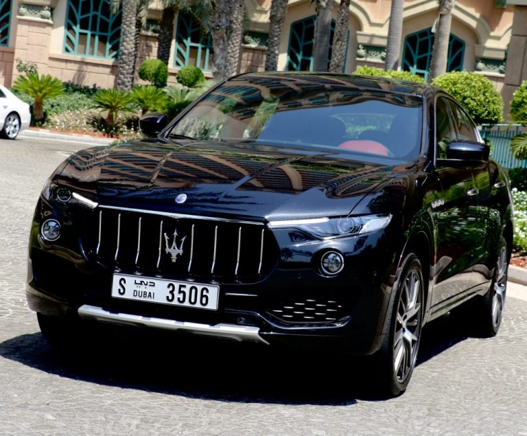 Maseratti Levante S in Dubai UAE for Rent