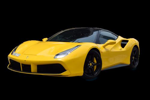 verhuur van luxe auto's in Dubai 488 gtb