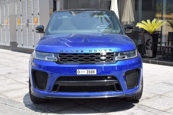 range rover svr blue for rent