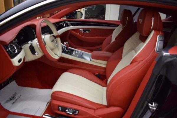 bentley continental gt dubai interior