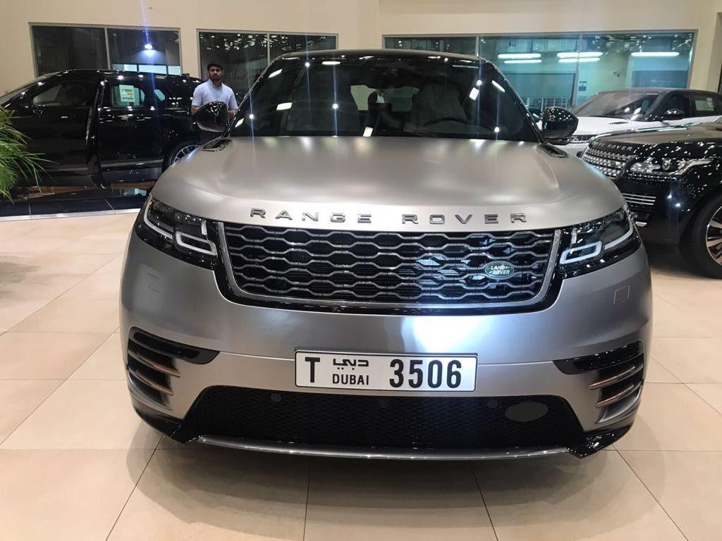 range rover velar 2018 silver