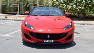Rent Ferrari Portofino in Dubai