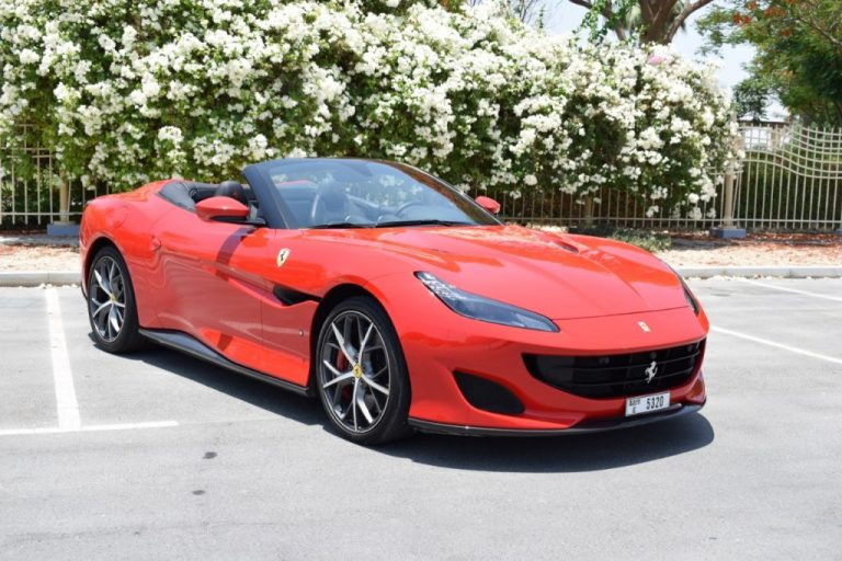 Ferrari Portofino Red for Rent in UAE Dubai