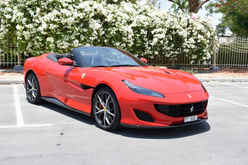 Ferrari Portofino Red for Rent in UAE Dubai