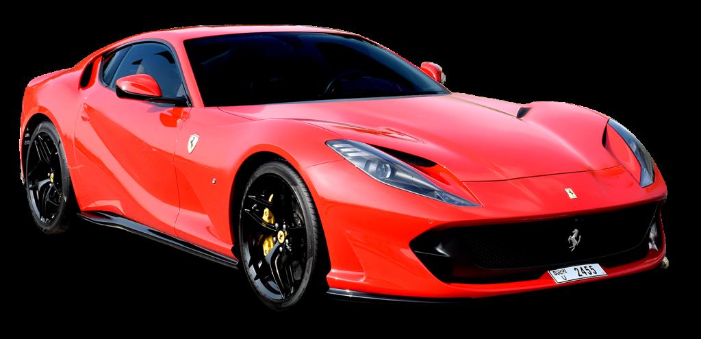 Ferrari 812 Superfast Red for rent in UAE Dubai