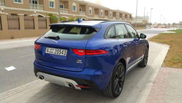 jaguar f pace blue color dubai