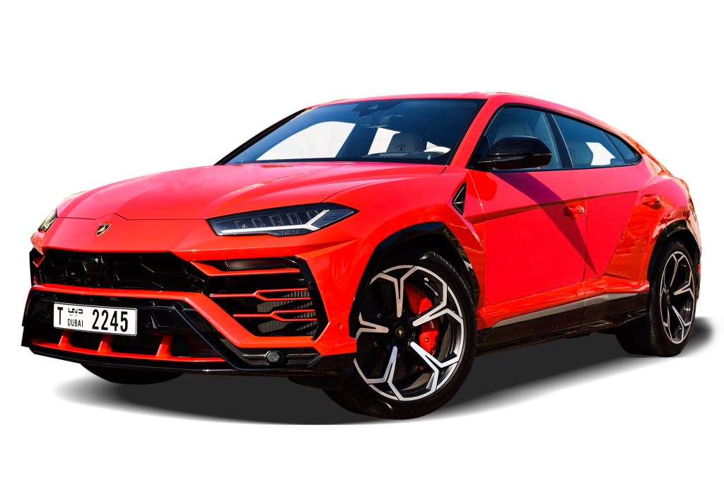 lamborghini urus red color