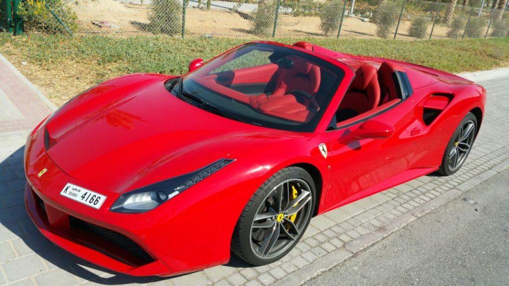 Rent FERRARI 488 SPIDER in Dubai | Up to 80% OFF | Check Prices