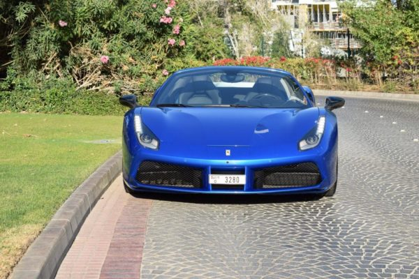 Ferrari 488 Spider Rental Dubai