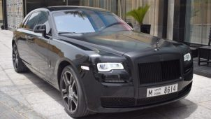 Rent Rolls Royce Ghost Dubai