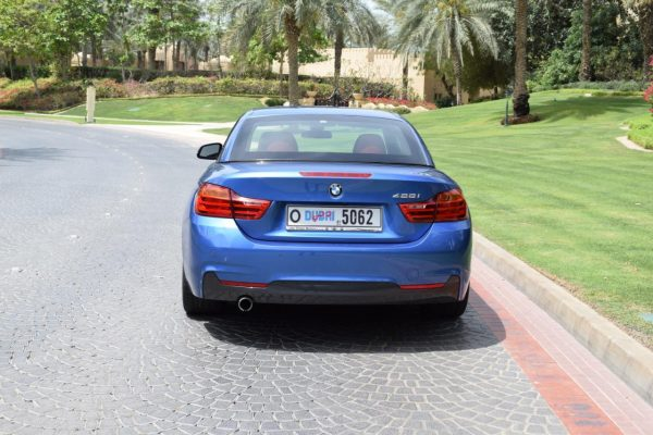 Rent BMW 420 in Dubai