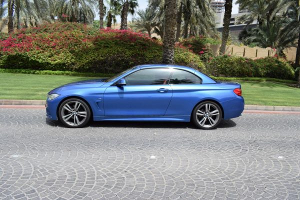 BMW 420 Rental Dubai
