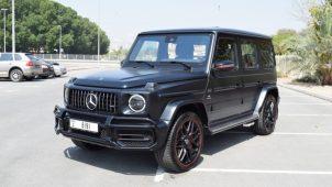 Rent Mercedes G63 2019 Dubai