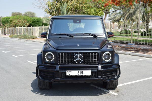 Rent Mercedes G63 2019