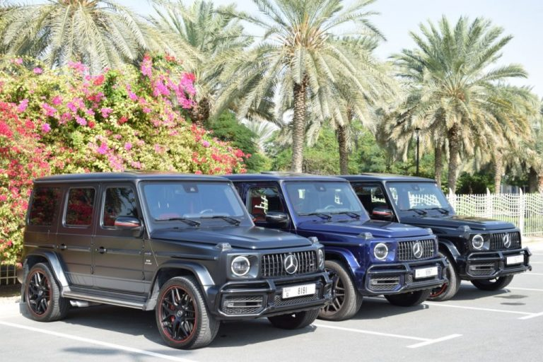 Mercedes G63 2019 for Rent in Dubai UAE