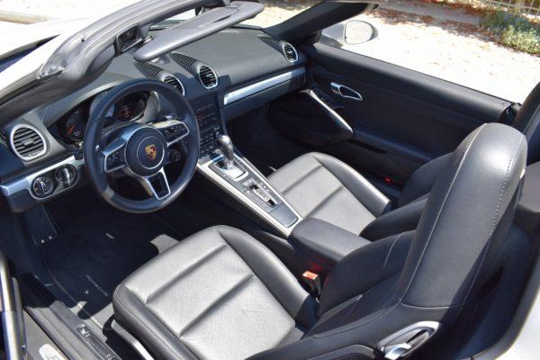 Porsche Boxter 718 Rental Dubai