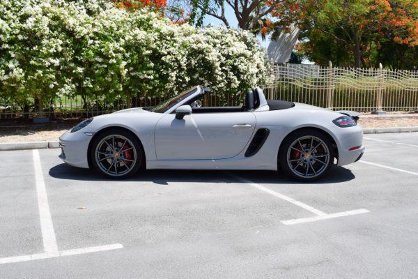 Porsche Boxter 718 Rental in Dubai