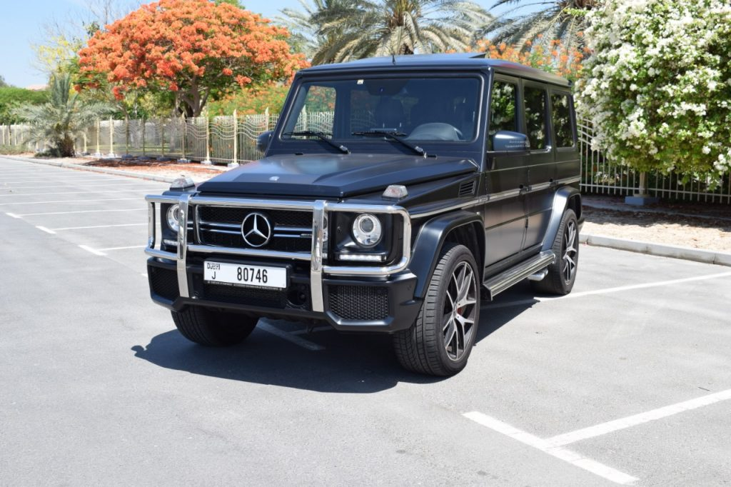 Rent Mercedes G63 2017 Dubai