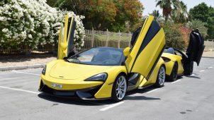 Mclaren 570S Spider Rental Dubai