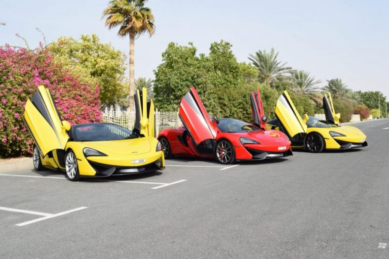 McLaren 570S Spider for Rent in Dubai UAE