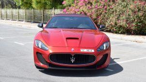 Rent Maserati Grancabrio Dubai