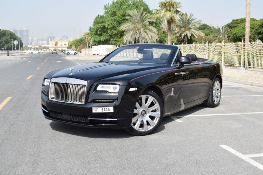 Rolls Royce Dawn - Black - For Rent in Dubai UAE