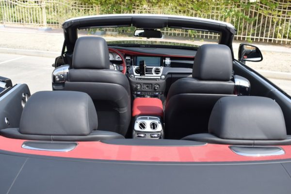 Rolls Royce Dawn on Rent Dubai