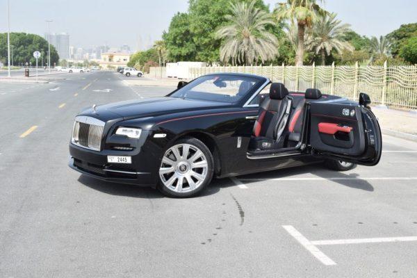 Rolls Royce Dawn on Rent
