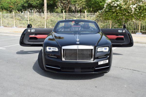 Rolls Royce Dawn on Rent in Dubai