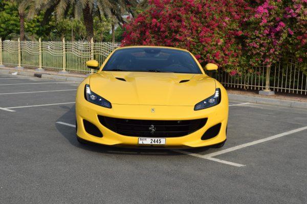 Rent Ferrari Portofino - Yellow