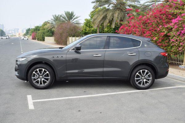 Rent Maserati Levante S - Silver Dubai