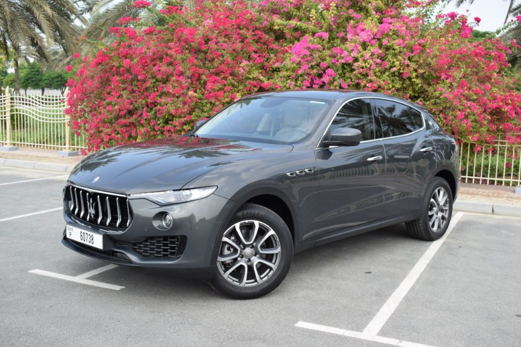 Maserati Levante S - Silver For Rent in Dubai UAE
