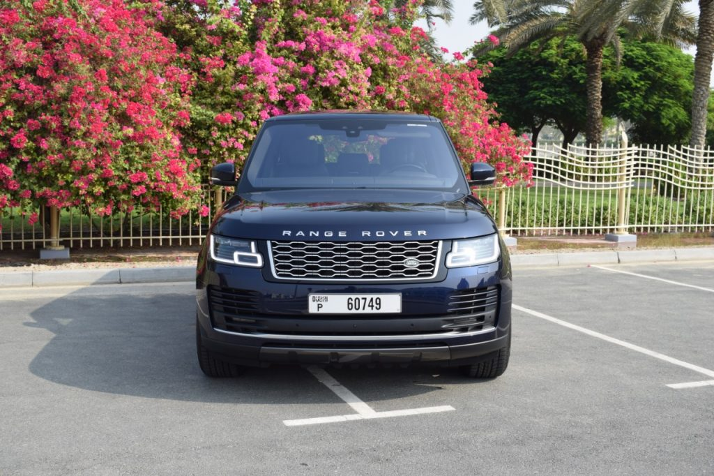 Range Rover SuperCharged - Dark Blue