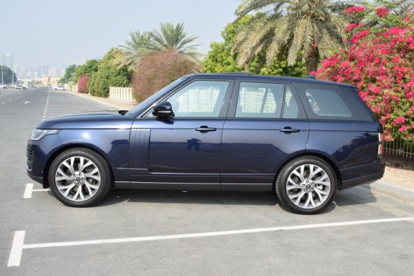 Rent Range Rover Supercharged - Dark Blue