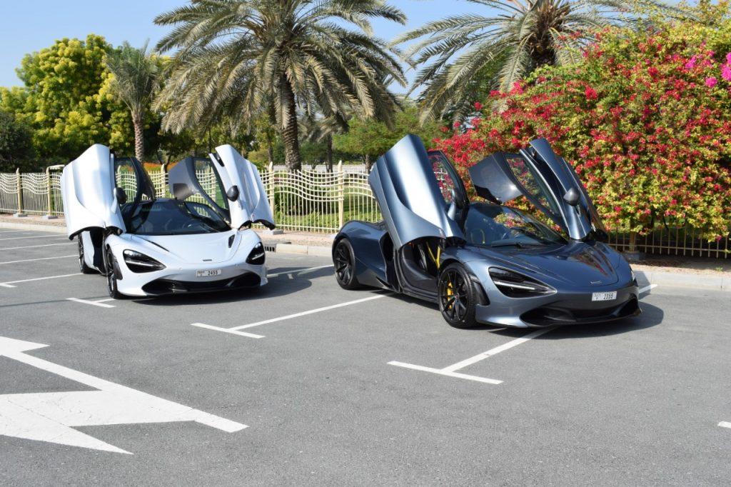 McLaren 720S - Rental Cars Dubai UAE