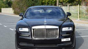 Rent Rolls Royce Wraith Dubai