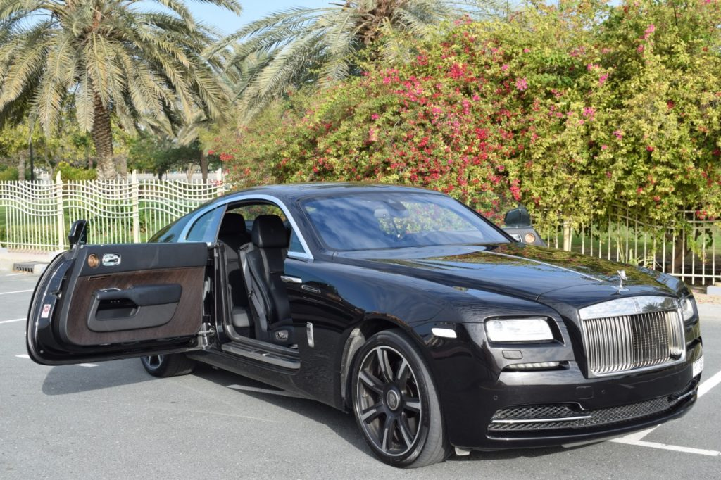 Rolls Royce Wrath Black - For Rent in Dubai UAE