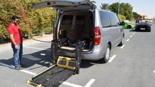 Rent Wheelchair Accessible Hyundai Van