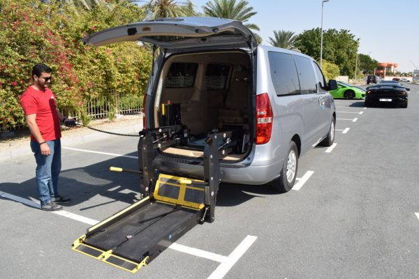 Rent Wheelchair Accessible Hyundai Van
