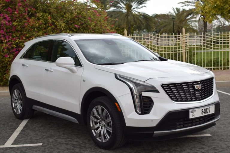 Cadillac XT4 2020 White - Rental Dubai UAE