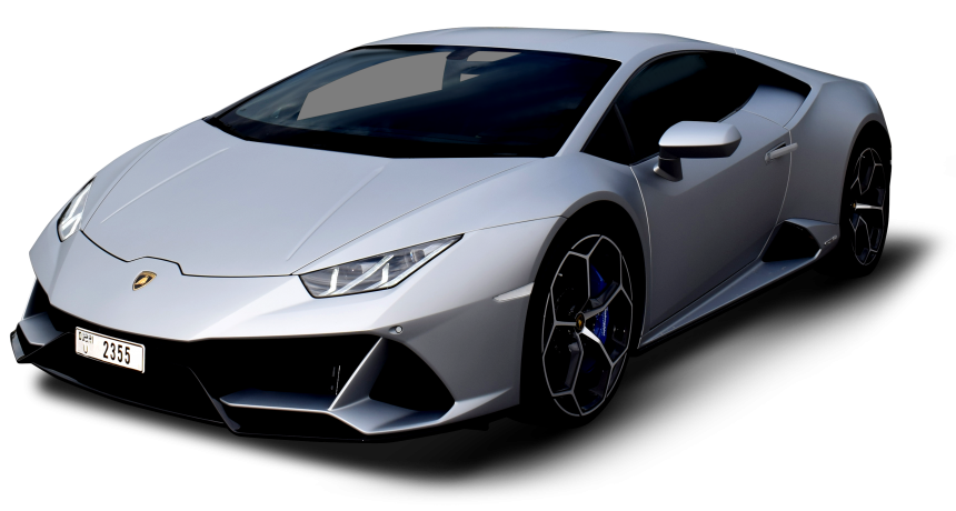 Lamborghini Huracan Evo Grey - For Rent in Dubai UAE