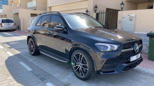 Rent Mercedes GLE AMG kit 450 Dubai