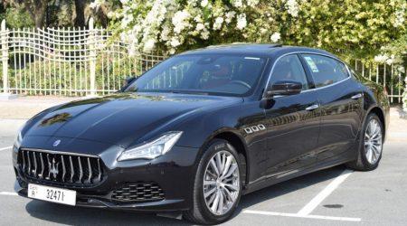 Rent Maserati Quattroporte 2020